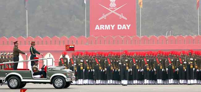 National Army Day - 15th Jan