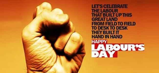International Labor Day - 1st May