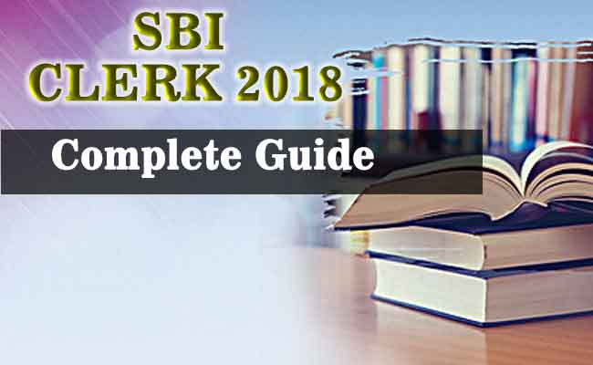 SBI Clerk 2018 (Junior Associates) : Complete info